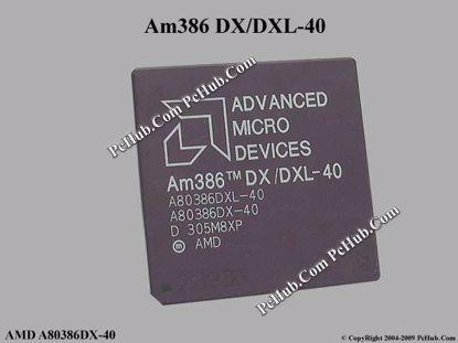 AMD A80386DX-40, A80386DXL-40