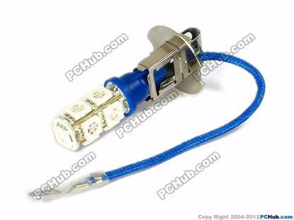74993- 9x5050 SMD Blue LED Bulbs