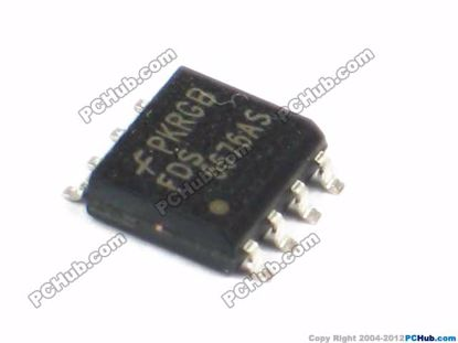 FDS6676AS. 30V. 14.5A