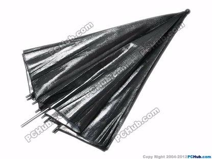 Black. 900mm dia