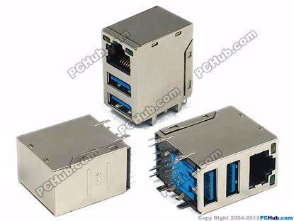 RJ45+USB3.0