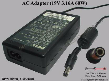PA-5, DP/N: 7832D 0007832D, ADP-60BB