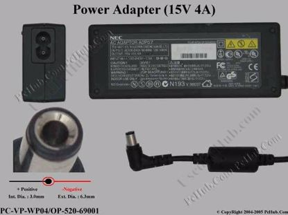ADP57, PC-VP-WP04 / OP-520-69001, ADP-60FB