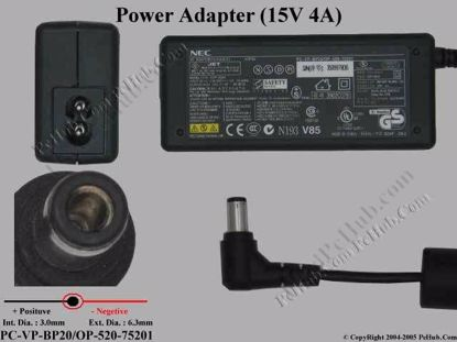 ADP62 , PC-VP-BP20 / OP-520-75201, ADP-60JH