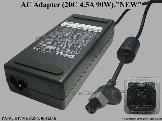 DP/N 6G356, 06G356, ADP90FB REV.B, PA-1900-05D