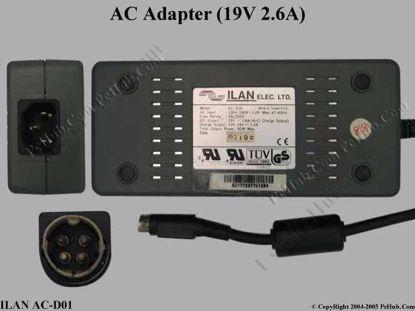 AC-D01, 12V-19V 1.4A (Charge Output)