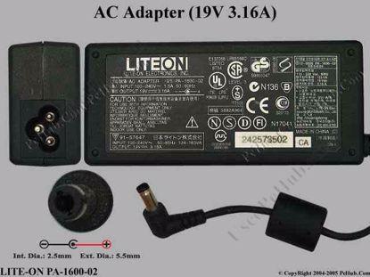 PA-1600-02 , Acer P/N: HAP.0060.001