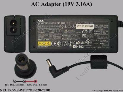 PC-VP-WP17 / OP-520-73701, ADP-60DB, ADP-1600B