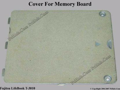 Picture of Fujitsu LifeBook T3010 Memory Board Cover .