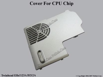 Picture of Twinhead Efio!123A D212A CPU Processor Cover .
