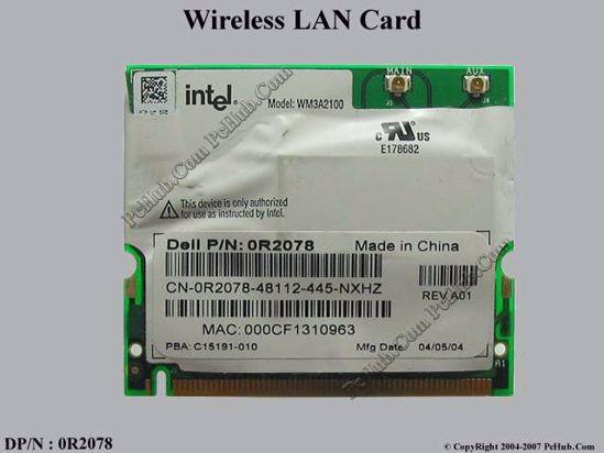 DP/N : 0R2078 R2078 , WM3A2100