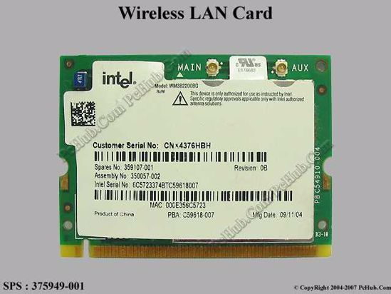 USB 2.0 Wireless WiFi Lan Card for HP-Compaq Presario SR2107FR