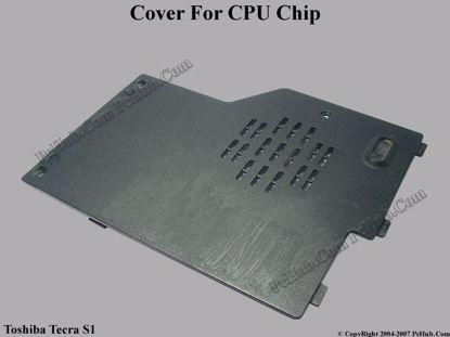 Picture of Toshiba Tecra S1 series CPU Processor Cover .