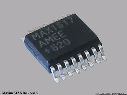 MAX1617AME