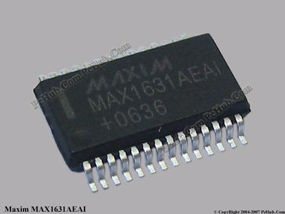 MAX1631, MAX1631AEAI
