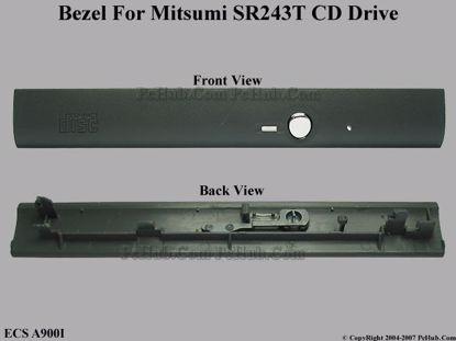Picture of ECS A900I CD-ROM - Bezel SR243T