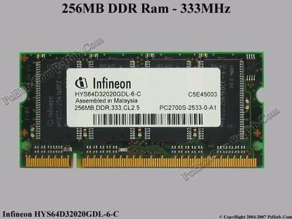 HYS64D32020GDL-6-C