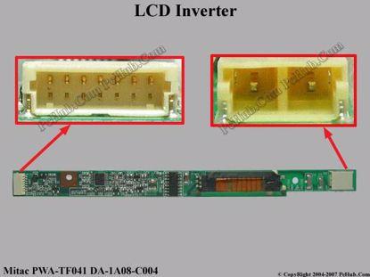 Picture of zMitac DA-1A08-C004 LCD Inverter .