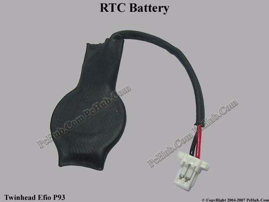 Picture of Twinhead Efio P93 Battery - Cmos / Resume / RTC .
