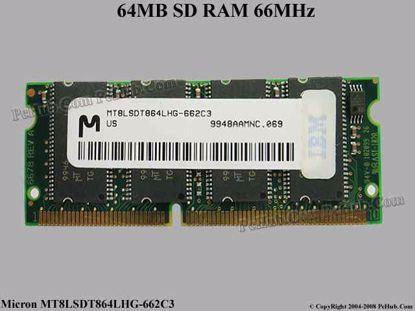 MT8LSDT864LHG-662C3