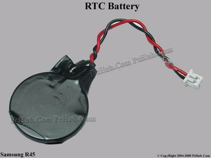 Picture of Samsung Laptop R45 Battery - Cmos / Resume / RTC Wire: 48mm
