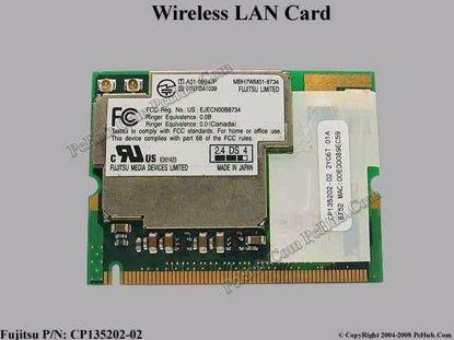 CP135202-02 , MBH7WM01-8734 ,