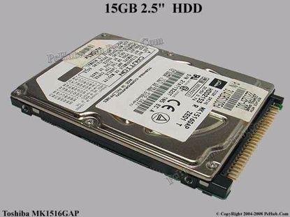 MK1516GAP , HDD2153