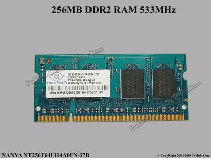 NT256T64UH4A0FN-37B , ACER P/N: KN.25603.020 KN256