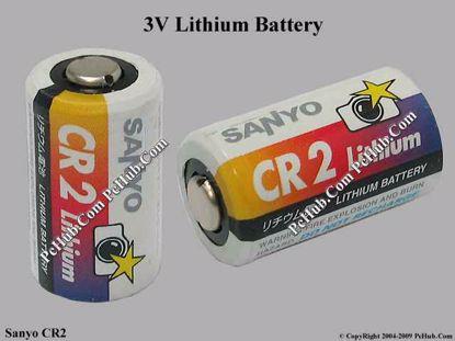 Sanyo CR2 Lithium