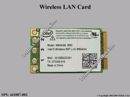 SPS: 441087-002 , 441087-002 , 4965AGN MM2