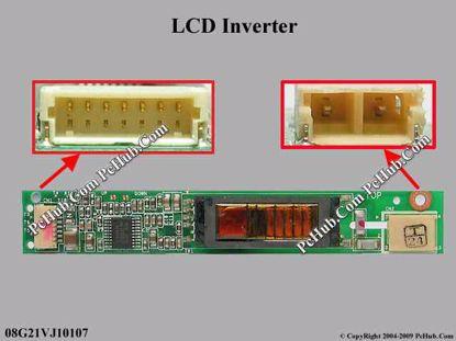 08G21VJ10107 REV:1.0, V1J INVERTER BOARD