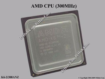K6-2/300ANZ, 1.8V Core / 3.3V I/O