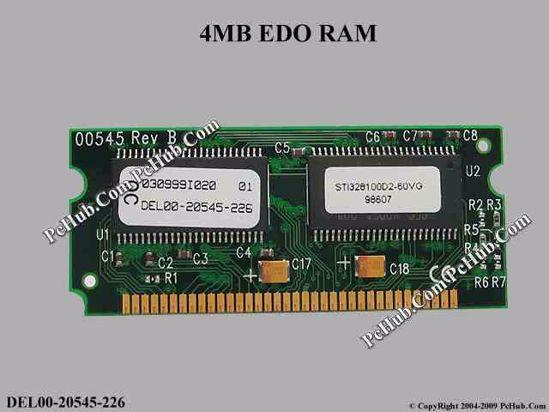 DEL00-20545-226 , STI328100D2-60VG , 030999I020