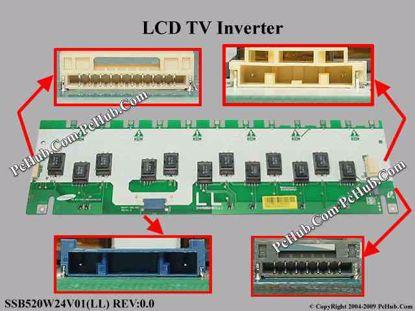 SSB520W24V01(LL) REV:0.0, INV52B24E