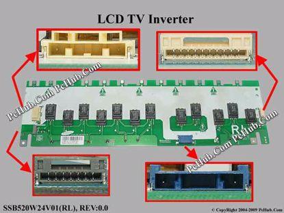 SSB520W24V01(RL), REV:0.0, INV52B24E(RL)