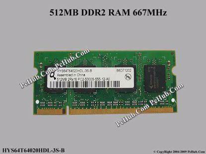 HYS64T64020HDL-3S-B, HP P/N: 442879-001