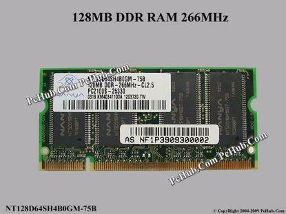 NT128D64SH4B0GM-75B