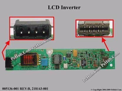 005136-001 REV:B, 218143-001, 005138-001 REV:A