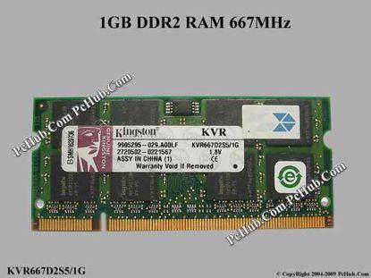 KVR667D2S5/1G