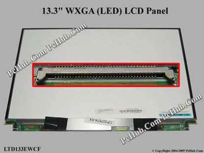 LTD133EWCF , Fujitsu P/N: CP340265-01, CP337674-XX