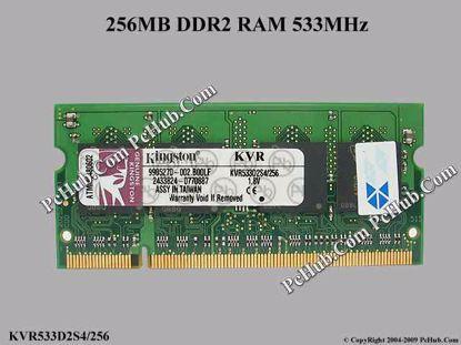 KVR533D2S4/256