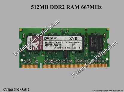 KVR667D2S5/512