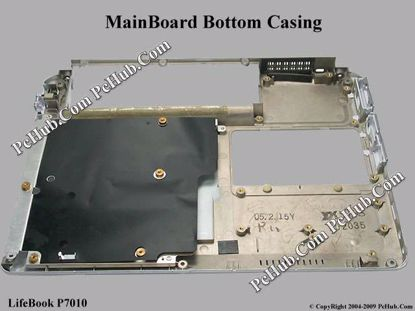 Picture of Fujitsu LifeBook P7010 MainBoard - Bottom Casing White Color