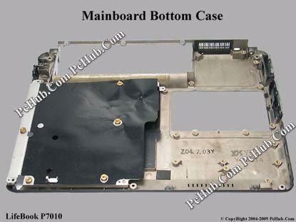 Picture of Fujitsu LifeBook P7010 MainBoard - Bottom Casing Black Color