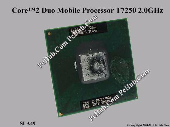 SLA49 Intel 2.0Ghz Core 2 Duo T7250 Processor