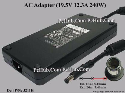 Dell P/N: J211H, J938H, GA240PE1-00, ADP-240AB B