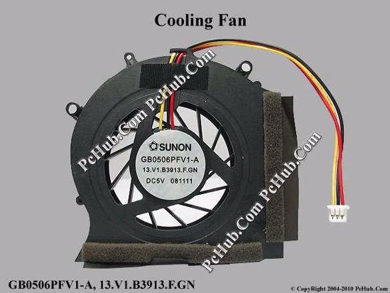 NEW for HP CQ35 DV3 DV3-2000 Cooling fan with heatsink 531814-001 536758-001
