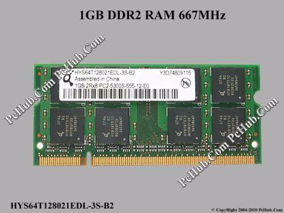 HYS64T128021EDL-3S-B2, SPS:452062-001
