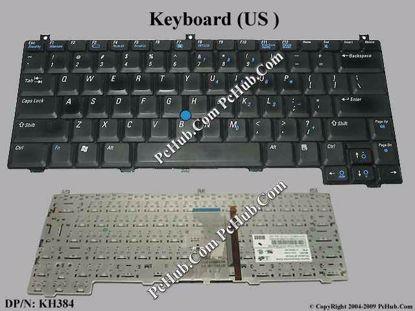 DP/N: 0KH384, KH384, NSK-D7001, 9J.N8582.001
