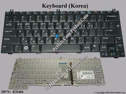 DP/N: 0KH466, KH466, NSK-D700K. 9J.N8582.00K